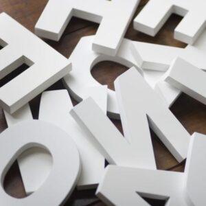 объемные буквы пенопласт алматы