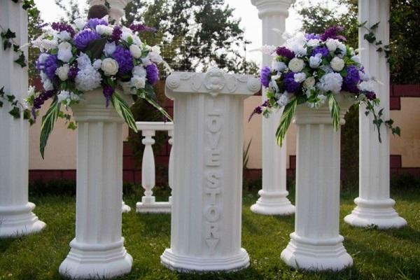 свадебные колонны алматы