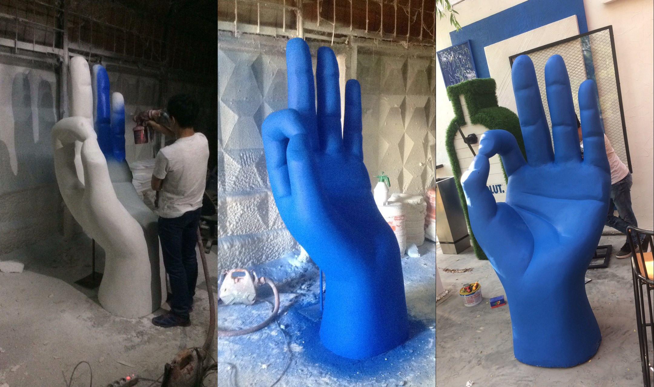 скульптура из пенопласта джумби
